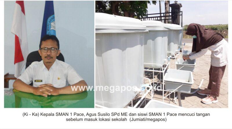KBM Tatap Muka Terbatas, SMAN 1 Pace Tak Abai Prokes