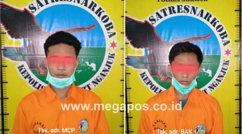 Transaksi Sabu, Dua Pemuda Tertangkap Tangan di Eks Lokalisasi Kandangan