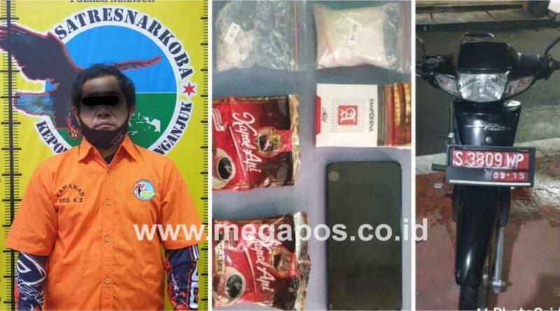 Penjual Buah Nyambi Kurir Sabu Diringkus Tim Rajawali 19