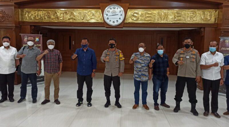 Kapolda Jatim Gandeng PWI Perangi Berita Hoaks di Wilayah Jatim