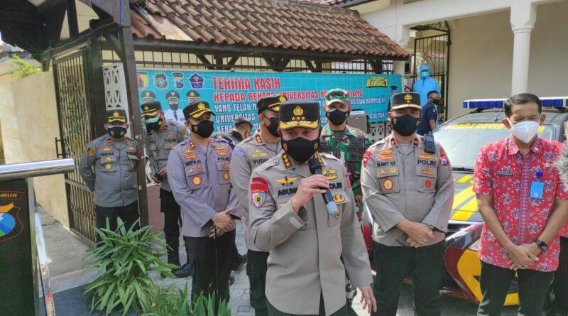Irwasum Polri Support Satgas Covid 19 Kota Blitar Dalam Penanganan Covid-19