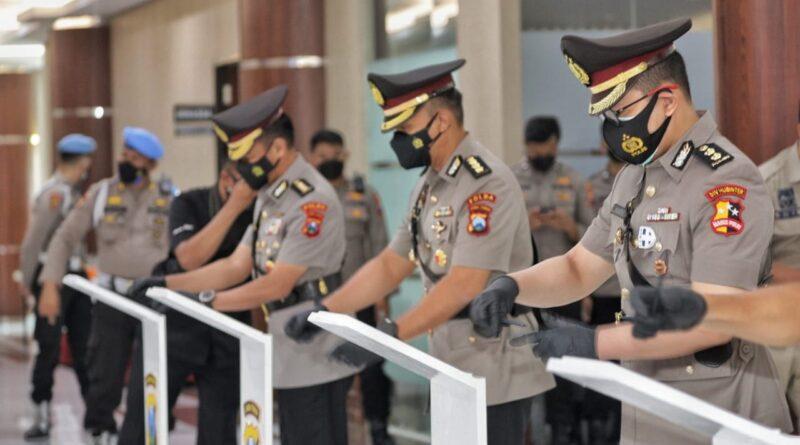Kapolda Lantik Pejabat Baru Jajaran Polda Jatim